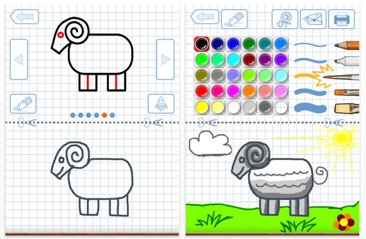 More Step By Step Drawing Apps Ot 39 S With Apps Technology