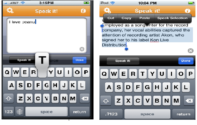 Text to Speech Apps – Supports for Students with LD # 3