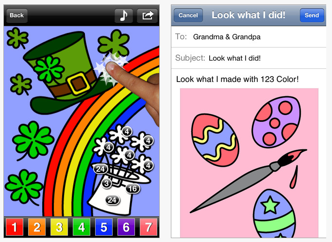 123 Color HD: Talking Coloring Book – Just Another Coloring Book App ...