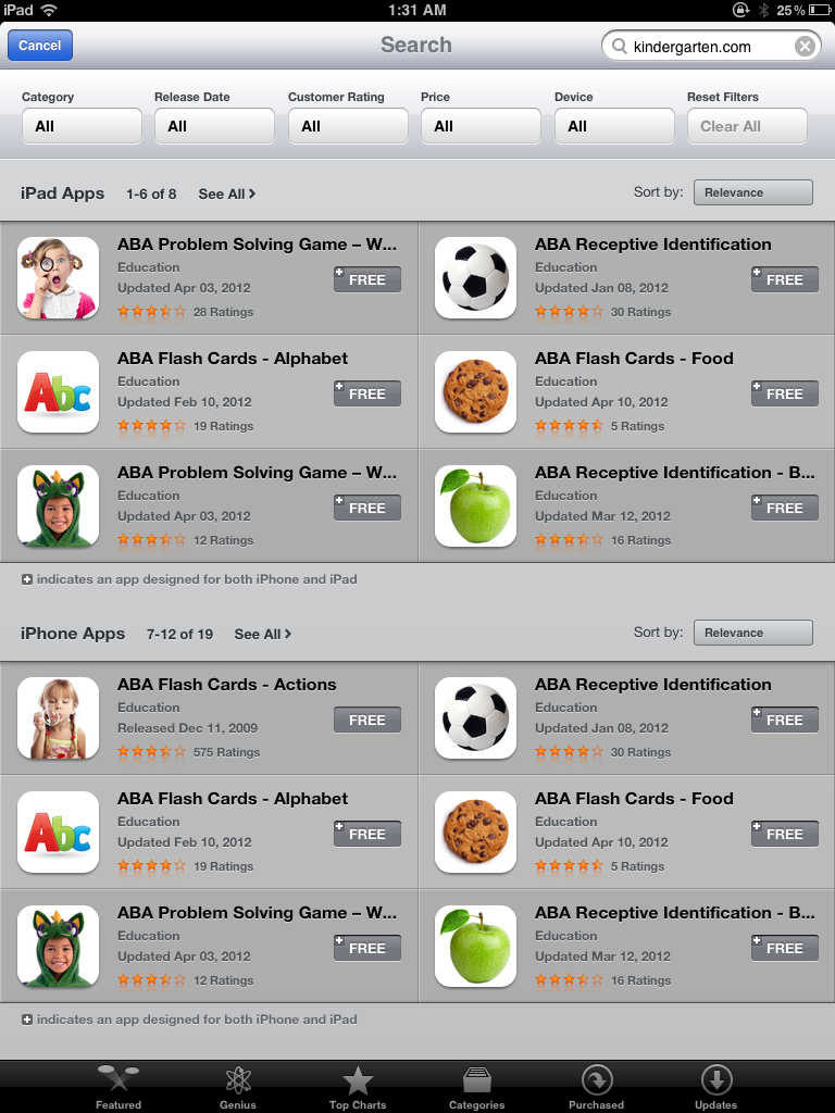 Apps free for autism awareness month - Kinderapps gratis ...