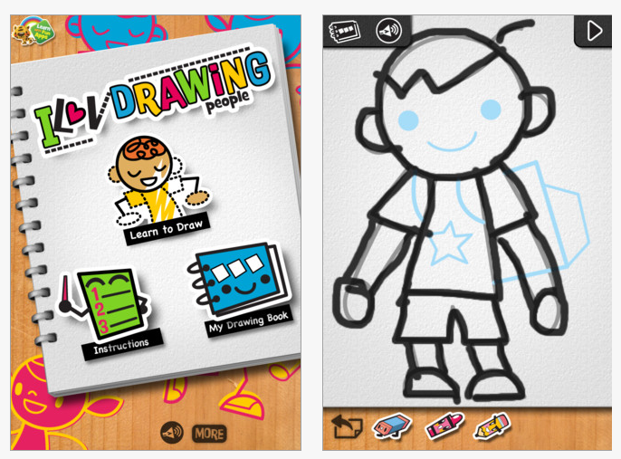 Iluv Drawing People App Ot S With Apps Technology