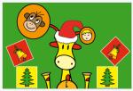 Bo's Matching Christmas pic1