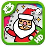 iLuv Drawing Santa icon HD