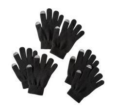Tech touch gloves black 4