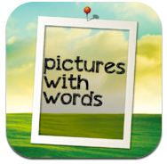 Pictures with words icons