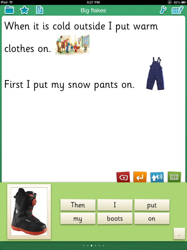 Clicker sentences pic2