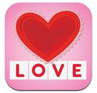 first words valentine icon