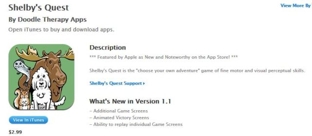 Shelby's Quest on sale