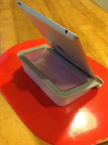 Belkin tablet stand with storage
