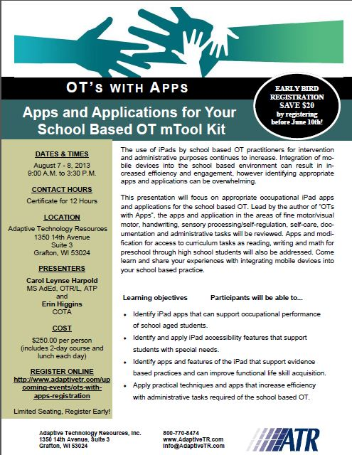OT's with Apps Invite pg1