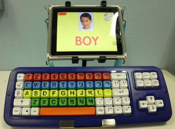 Big Blue-Tooth keyboard
