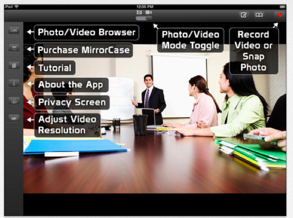 Mirror Case for iPad | OT's with Apps & Technology