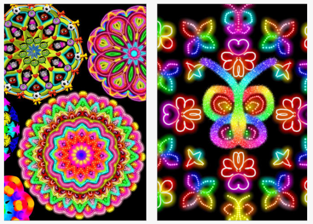 Kaleidoscope doodle pad pic1