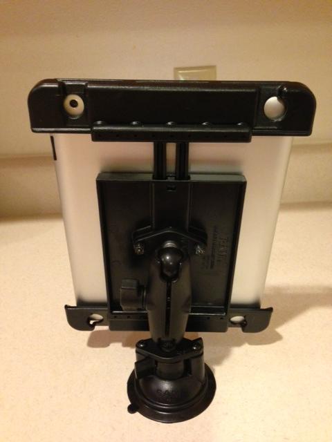 RAm Tab Tite mount iPad pic 2