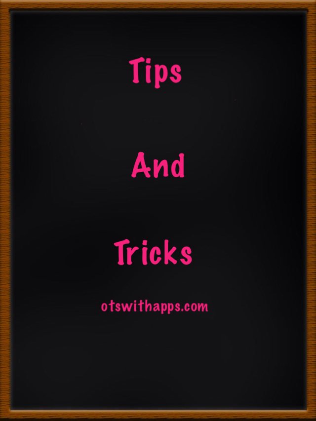 Tips and Trick otswithapps.com