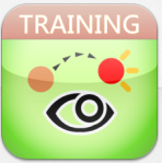 Eye movement training icon