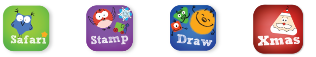 Tiggly Shapes apps