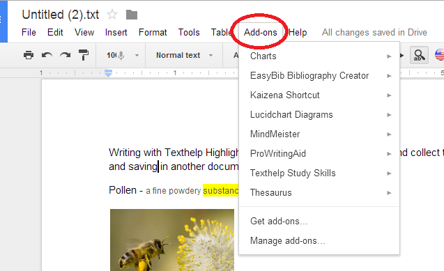 how to change orientation of one page in google docs