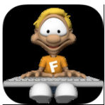 Typing Fingers app icon