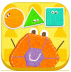 Doodle Critter Math Shapes icon