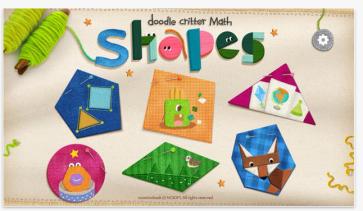 Doodle Critter Math Shapes pic1