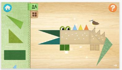 Doodle Critter Math Shapes pic4
