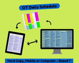 Schedule pic created w canva