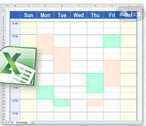 Back to School – Producing & Sharing Your Schedules | OT's with ...