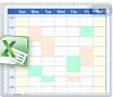 Schedule pic = excel