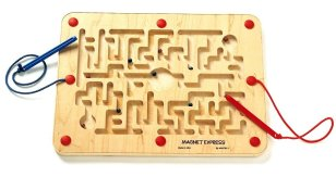 Maze magnet rectangle pic