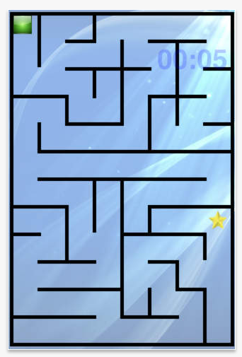 Maze Touch Pic on mazes medium