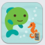 Sago Mini swim icon