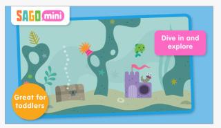 Sago mini swim pic1