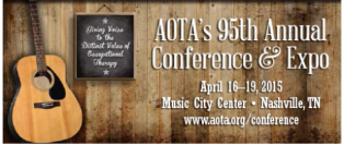 AOTA conference 2015