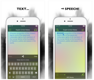 Aloud! Text to Speech iOS pic