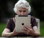 old-woman-ipad