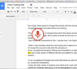 Voice typing big