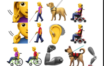 Emojii's for disabled proposed