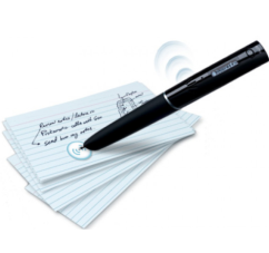 picture of Echo pen with sound sticker on note cards
