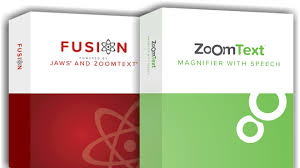 zoomtext and Fusion software images